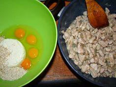 Cristina's world: Placinta de pui - dukan style Oatmeal, Grains, Eggs, Breakfast, Food, Diet, The Oatmeal, Morning Coffee, Rolled Oats