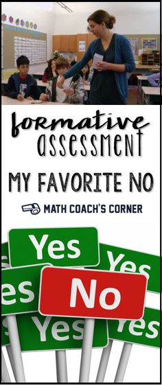 AWESOME video of a powerful formative assessment routine. I have had so many teachers tell me how this routine has transformed their classroom!