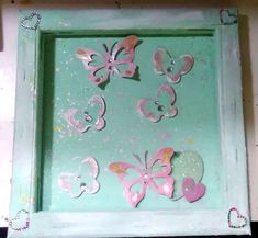 butterflies Altered Canvas, Butterflies, Frame, Home Decor, Picture Frame, Decoration Home, Room Decor, Butterfly, Frames