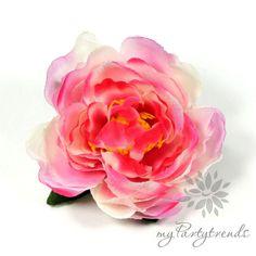 Haarblume, Haarrose cremeweiß-pink-magenta Ø 6 cm von Boutique für wundervolle Accessoires zum Liebhaben! auf DaWanda.com