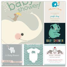 Best Elephant Baby Shower Invitations