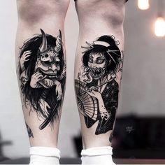 Browse best manga tattoos for men & women. Find inspiration for your next tattoo & book an artist Hand Tattoos, Body Art Tattoos, Sleeve Tattoos, Monster Tattoo, Hannya Tattoo, Tattoos Geometric, Aesthetic Tattoo, Japanese Tattoo Designs, Japan Tattoo