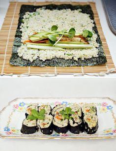 Cauliflower is the 'New Rice.' ~ Cauliflower Rice Sushi