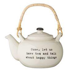 Bungalow Rose Prange Ceramic Teapot - Tea Set - Ideas of Tea Set - Bungalow Rose Prange Ceramic Teapot Pottery Teapots, Ceramic Teapots, Intelligent Design, Joss And Main, Sugar Bowl, Glass Teapot, Tea Pot Set, Tea Service, China Porcelain