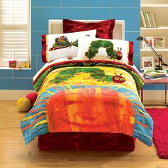 Hungry Caterpillar by Eric Carle TWIN Comforter / Sheet Set - could use when ready to convert to toddler room