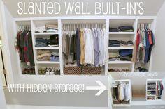 MyLove2Create, Slanted Wall Built-ins