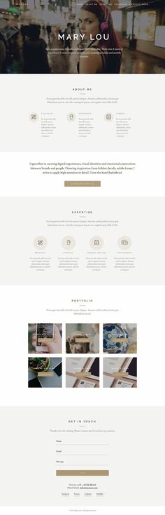 Miportfolio is a Responsive One Page Creative #WordPress Theme, featuring some…