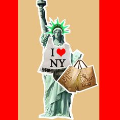 Who doesn't love New York? A Statue of Liberty paper doll. :)