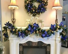 Christmas Magnolia Garland 9 foot 50 cordless light with