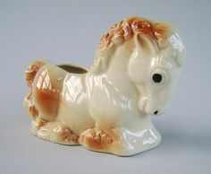 Shawnee Pottery Horse Planter