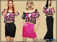 Sims 4 CC's - The Best: Dresses by Bukovka