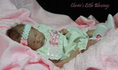 life like baby created at Cherie's little Blessings USA
