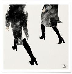 BB Walk - Andriana Chunis - Premium Poster
