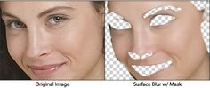 describes how to make skin look smoother in photoshop