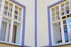 Traditional window trim is pared down to a simple, continuous graphic that turns the corner of the building. Otto Wagner, Traditional Windows, Architectural Digest, Architecture Details, Vienna, Building, Design, Corner, Gems