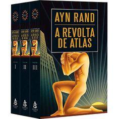 Livro - Box A Revolta de Atlas (3 Volumes)