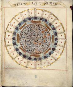 """Compendio de cosmografía — 1500's pedro de medina. an extract from """"the art of navigation"""" publication of 1545"""