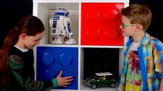 Kids love their LEGO styled IKEA furniture