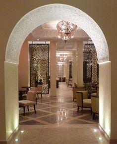 Four Seasons, Marrakech Hotel lighting by Lighting Design International.