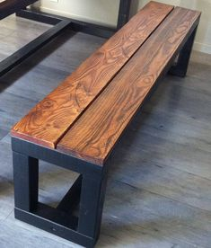 34 The Best Rustic Bench Design Ideas For Your Home Decor furniture bedroom furniture bench furniture outdoor furniture patio Woodworking Projects Diy, Diy Wood Projects, Furniture Projects, Furniture Plans, Woodworking Bench, Woodworking Classes, Woodworking Techniques, Woodworking Finishes, Wooden Pallet Projects
