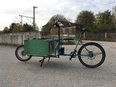 E-Cargo-Bike-DIY: 26 Steps (with Pictures) Velo Cargo, Bicycle, Projects, Pictures, Diy, Old Frames, Steel Frame, Trial Bike, Log Projects