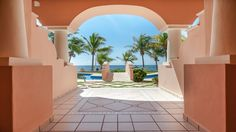 Quinta Maya - Chaises Lounges, Pool & Beachside - Riviera Maya Haciendas, Puerto Aventuras, Mexico.