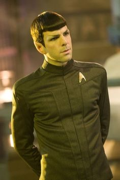 Zachary Quinto as Spock Star Trek Actors, Star Trek Characters, Star Trek Movies, Star Trek Spock, Star Wars, Spock Zachary Quinto, Star Trek Reboot, Star Trek 2009, Foto Gif