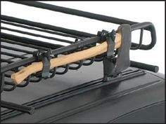 Because you should never leave the house without an axe and shovel. Jeep Cars, Jeep Truck, Truck Roof Rack, Roof Racks For Trucks, Subaru Outback Offroad, Jeep Wk, Pajero, Quad, Truck Covers