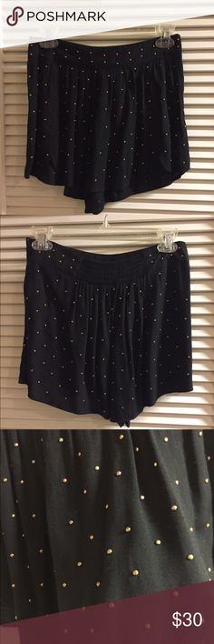 "MINKPINK ""High Roller"" Studded Shorts PRICE CUT- THIS WEEKEND ONLY- Worn 4-5x, still in good condition.  Small pilling I tried to capture in the photo, but unnoticeable when on.  Size Small. MINKPINK Shorts"