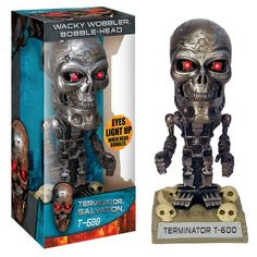 Terminator Salvation T-600 Wacky Wobbler Bobble-Head http://popvinyl.net #funko #funkopop #popvinyls