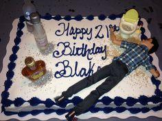 21st Birthday Cake For Guys Bday Ideas