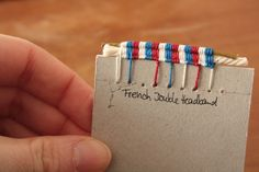 French Headband (2 cores, 3 beads) by buechertiger