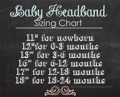 DIY Baby Headband tutorial at blooming homestead