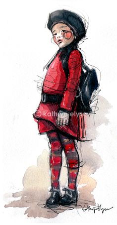 Jean Paul Gaultier Kids #fashion #illustration