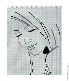 Вышиваем бисером в стиле «Графика» - Ярмарка Мастеров - ручная работа, handmade