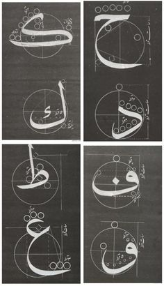#Rules and structure of #Arabic #calligraphy