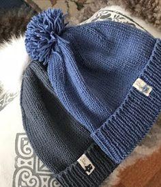 MED PINNER OG GARN, og mere til...: VINTERFERIELUER Knitting For Kids, Mittens, Hue, Cowl, Knitted Hats, Diy And Crafts, Winter Hats, Handmade, Inspiration