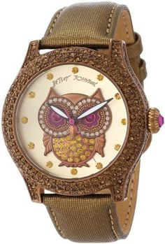 Betsey Johnson Women's BJ00019-57 Analog Owl Graphic Dial Watch, http://www.amazon.com/dp/B00CZ5DXN4/ref=cm_sw_r_pi_awdl_h33Ksb1HY6SNZ