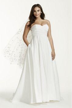 PLUS SIZE WEDDING DRESS OF THE DAY | David's Bridal