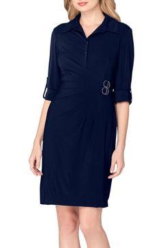 Tahari Jersey Wrap Shirtdress (Regular & Petite) available at #Nordstrom