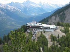 Gondola in Banff, Alberta CA