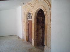 4 -  Ricostruzione portale in tufo - completamento lavori con cartongesso