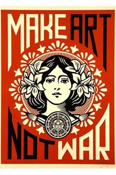 Deco poster by Shephard Fairey