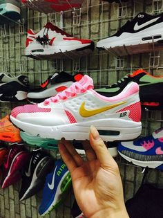 Shop 2018 Nike Air Max Zero Pink Flash White Think Pink
