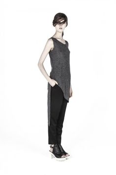 Draped and cut with low back detail, Elohim By Sabrinagoh's tank is no ordinary basic