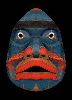 Bella Coola Komokwa Mask Kwaguilth, Native American