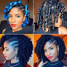 """2,467 Likes, 14 Comments - VoiceOfHair (Stylists/Styles) (@voiceofhair) on Instagram: """"Love this styles on @syeda_bombom  . . . Braid and Curl using the Peppermint Tea Tree Collection…"""""""