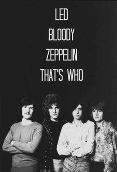 Led bloody Zeppelin