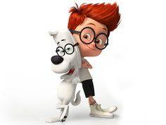 Mr Peabody And Sherman IPhone Wallpaper Mobile Wallpaper Cartoon Cartoon, Boy Cartoon Drawing, Cute Cartoon Boy, Cute Cartoon Pictures, Cartoon Kunst, Cartoon Characters, Stitch Cartoon, Cartoon Wallpaper Hd, Boys Wallpaper
