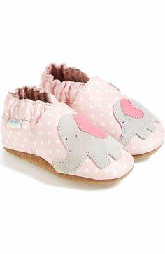 Main Image - Robeez® 'Little Peanut' Crib Shoe (Baby & Walker)